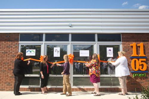 1105 Ribbon Cutting